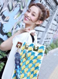 蓋玥希甜美文藝時尚街拍圖片
