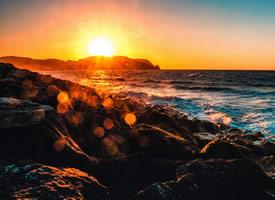 一組唯美的夕陽風景圖片欣賞