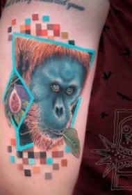 小动物纹身  可爱的多款生动活泼的小动物纹身图案