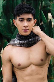 誘人的泰國肌肉帥哥男模tu jirat寫真圖片