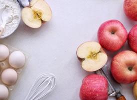 一组红彤彤的苹果拍摄图片欣赏