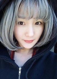 一組可愛的女生齊劉海發型圖片欣賞