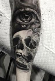 眼睛主题纹身   别具特色的炯炯有神眼睛纹身图案