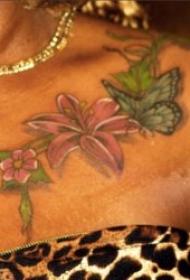 蝴蝶紋身圖案 多款彩繪紋身動物蝴蝶紋身圖案