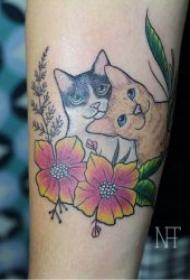 小貓咪紋身圖案   趣味與可愛并行的小貓咪紋身圖案