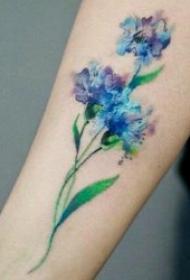 紋身圖花朵 9款嬌美而又花香襲人的花朵紋身圖案