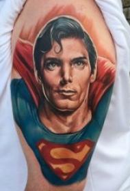 超人圖案紋身  9張威風凜凜的漫畫超人紋身圖案