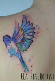 藝術紋身彩繪 唯美的一組藝術紋身彩繪圖案