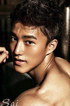 中国男模吴俊超全见艺术写真图片