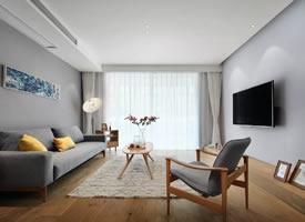 100平北歐原木風三居室,簡約愜意又溫暖舒適