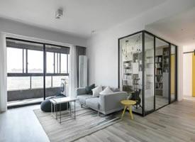 93平現代北歐三居室裝修效果圖欣賞