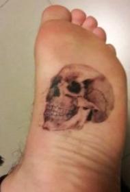 腳部紋身 10款個性化十足的腳背紋身圖案