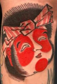 日式紋身圖 紅色調傳統風格的的9張日式紋身圖片