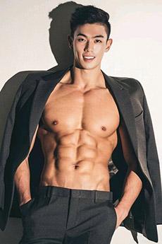 韓國帥哥肌肉迷人私房照圖片