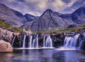 一組唯美瀑布自然風光高清圖片欣賞