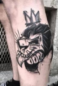 暗黑色的17張創意紋身圖片欣賞