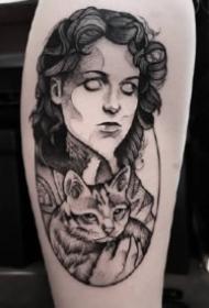 來自歐美的一組好看點刺紋身圖片