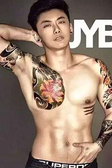 高顏值泰國帥哥肌肉圖片欣賞
