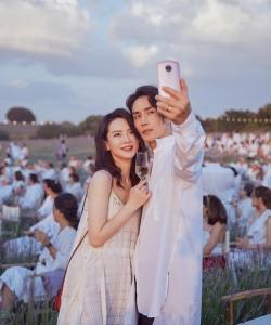 戚薇李承鉉甜蜜浪漫音樂節圖片