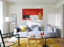 色彩混搭舒適家居設計