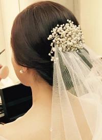 仙氣十足的新娘造型
