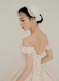 一組簡約氣質經典復古新娘造型圖片