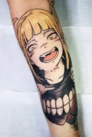 火影忍者紋身 9款包小手臂的火影忍者人物紋身圖案