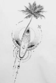 紋身小臂圖 15款小清新的小臂幾何紋身作品和手稿