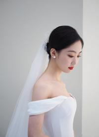 一組美美的中西不同的新娘發型