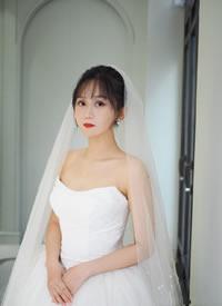 一組元氣滿滿的可愛新娘發型圖片