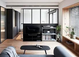 一組45m2簡約單身公寓裝修效果圖