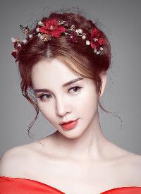 最吸睛的新娘頭飾造型,艷光四射