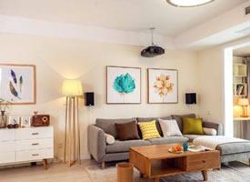 一個清爽簡約的三居室裝修效果圖