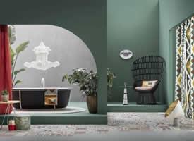 一組唯美清新的綠色家居裝修效果圖