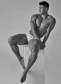 韓國超帥肌肉男模圖片
