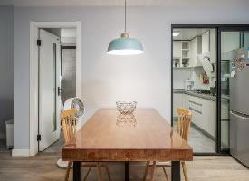 75平米小戶型原木家具搭配的北歐簡約風格的家