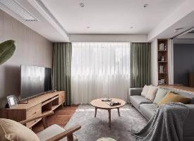 北歐日式原木風格裝修的家