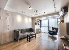 88平米北歐簡約風格裝修的家