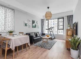 北歐風小戶型二居室,從細節處展現出格調感 ?