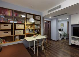 65平簡約風小戶型二居室,溫馨浪漫而又舒適