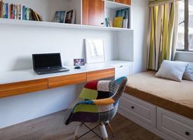 小戶型書房,節省空間又實用