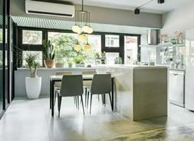 現代簡約與輕工業風的混搭,個性公寓設計