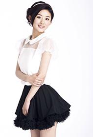 内地女演员赵丽颖楚楚动人写真照