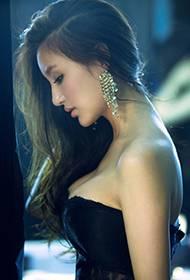 刘羽琦黑丝性感时尚写真组图