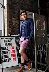 韩国人气男星Rain异国写真 帅气阳光型男风范迷人