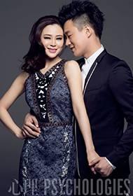 佟大为关悦夫妻携手共登时尚杂志封面