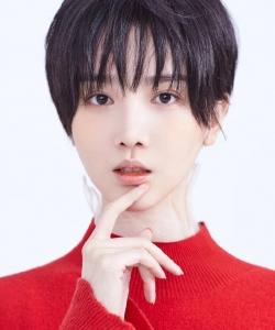 陳小紜美艷紅裙寫真圖片