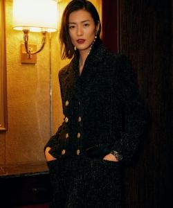 劉雯芭莎明星慈善夜優雅性感寫真圖片