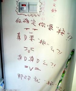 大學女生宿舍內的雷人壁畫
