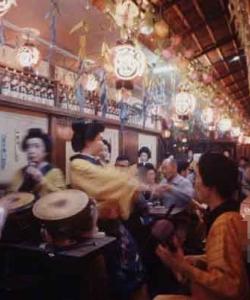 日本早些年的紙醉金迷
